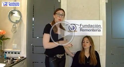 VIDEO :: Recomendaciones para el maquillaje de los ojos en personas jovenes