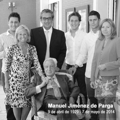 Fallece Manuel Jimenez de Parga