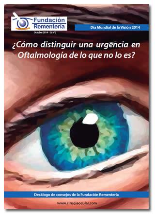 Decálogo: ¿Cómo distinguir una urgencia en Oftalmología de lo que no lo es?