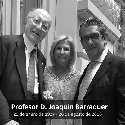 Fallece el Profesor D. Joaquín Barraquer