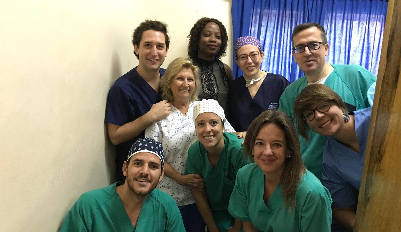 Cooperación Internacional oftalmología en Senegal, operaciones de cataratas Fundación Rementería